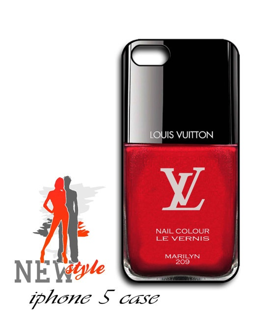 iphone 5 case  Nail Polish  iphone 5 case  black by NewStyleDesign, $16.00