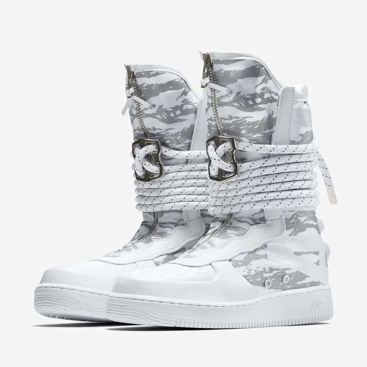 Official Images Of The Nike Special Field Air Force 1 High Winter Camo