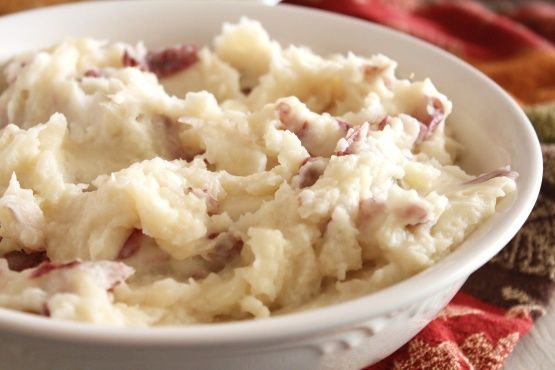 Mashed Red Potatoes- I added extra cream, pepper, and Parmesan