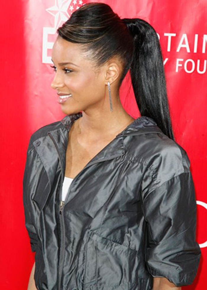 Black Ponytail Hairstyles With Weave ~ http://wowhairstyle ...