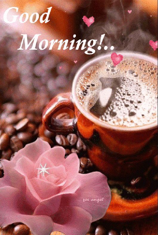 Buongiorno Animated Coffee Immagine