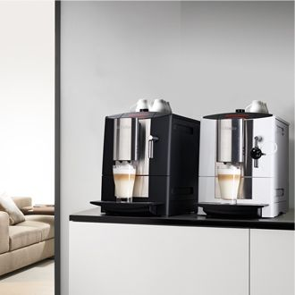 Miele Coffee System...This is the closest coffee maker I have found to the one I used in Rome.