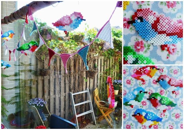 Ilonas blog: Blik gehaakt en strijkkralen, crochet food can and perler beads by by-ilona.blogspot.de