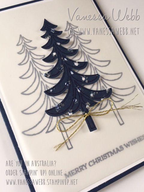 Santa's Sleigh Christmas Card - video tutorial (link in post ) - Vanessa Webb – Independent Stampin'Up! Demonstrator Australia