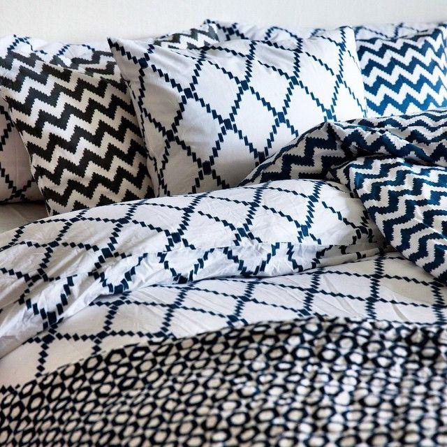 Julklappstips på R.O.O.M. Underbara sängkläder från Chhatwal & Jonsson i handtryckt ekologisk bomull. Finns i många olika mönster. Välkomna till R.O.O.M. Täby C. #roombutiken #julklappstipspåroom #chhatwaljonsson