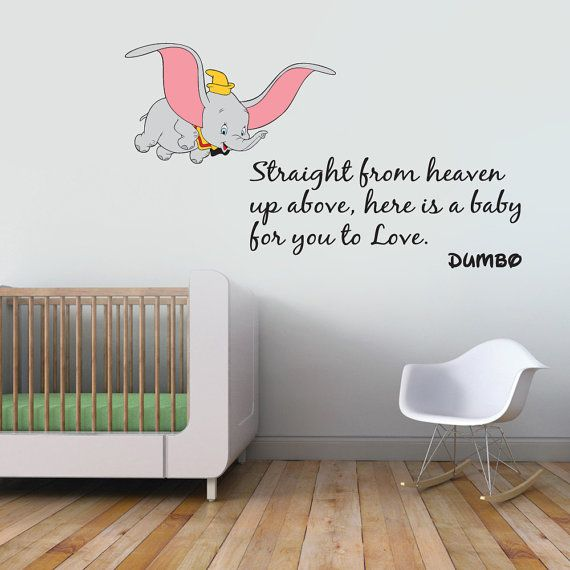 25 best ideas about dumbo nursery on pinterest dumbo dumbo the elephant disney decal removable wall sticker