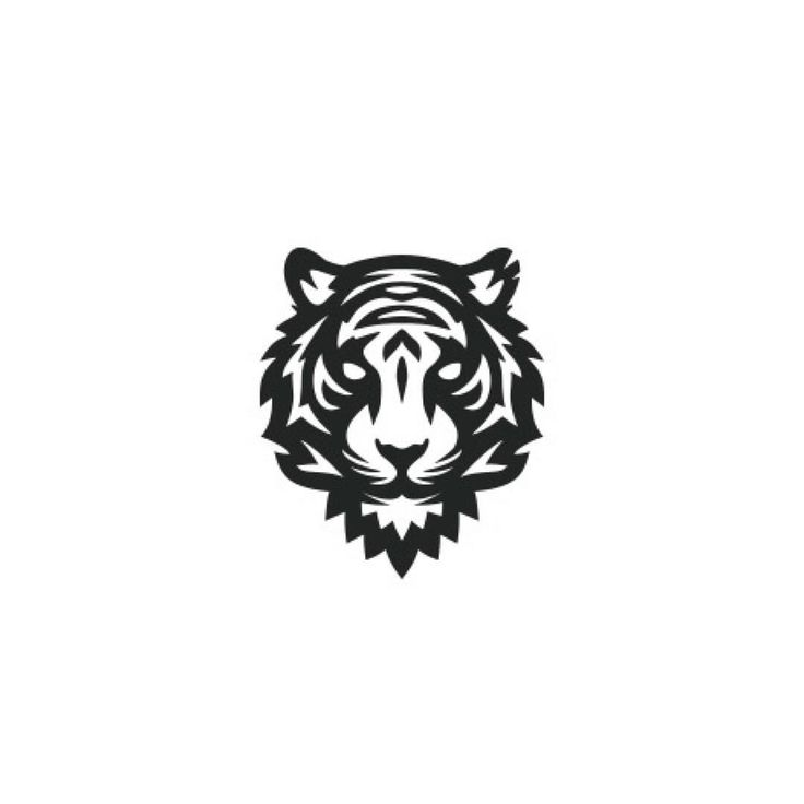 Tiger head logo design - photo#45