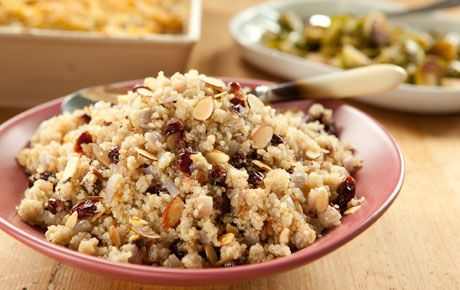 quinoa with almonds and cranberries- WHOLE FOODS RECIPE!
