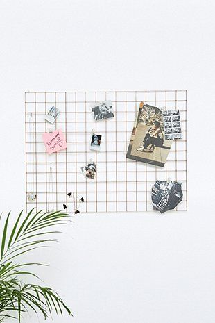 36 best block design wire mesh memo board images on pinterest for Room decor urban outfitters uk