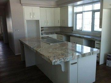 Granite kitchen countertops - Fantasy Brown Granite Ideas For New Home Pinterest