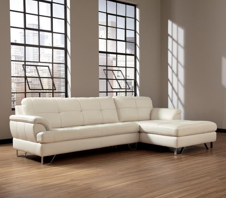 Gunter - Brilliant White 2-Piece Sectional by Signature Design by Ashley