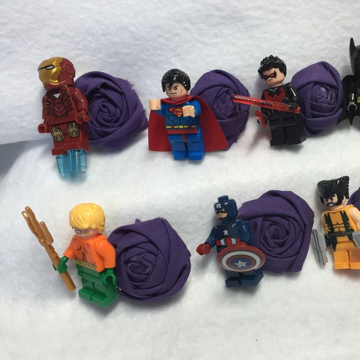 The Original Superhero Lego Inspired Boutonnieres