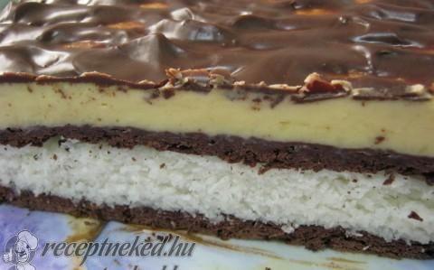 Vaníliás-kókuszos csoda recept fotóval
