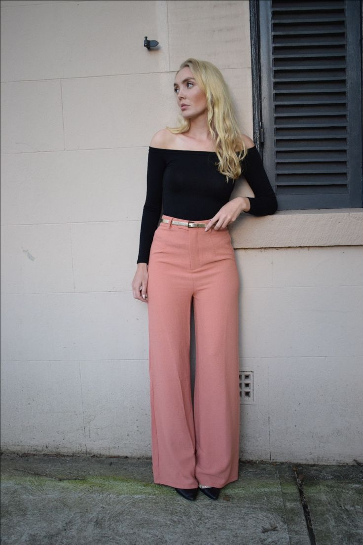 THE ICONIC top and Missguided pants = Love