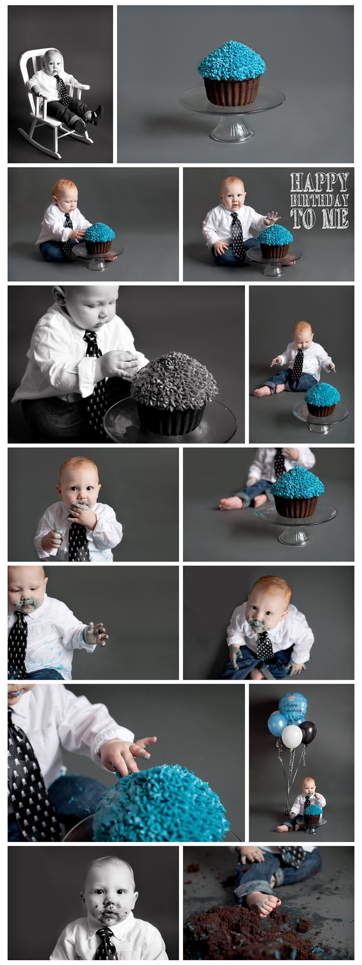 Got Cake? {First Birthday Cake Smash | Victoria, B.C. | Studio / Indoor | Nicole Israel Photography}