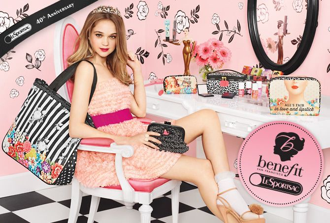 Rosie Tupper  for Lesportsac 40th Anniversary Spring/Summer Campaign
