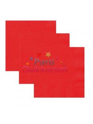 Kırmızı Peçete Lüks (20 adet)