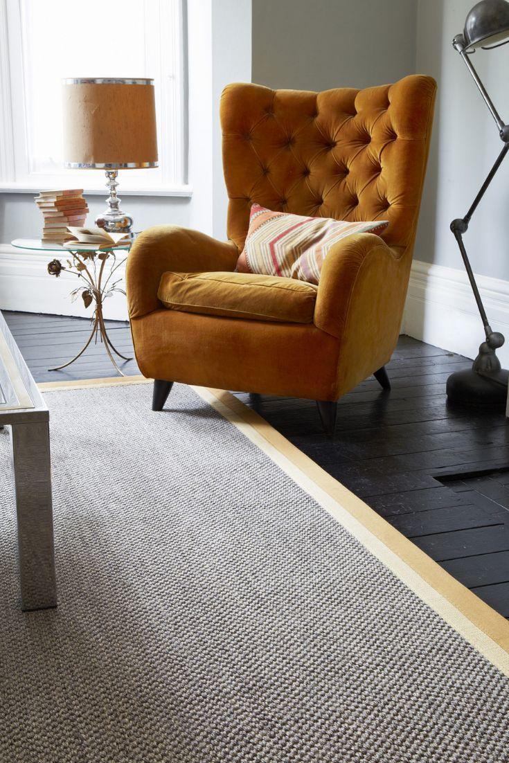 Sisal Malay Shanghai (2527) Natural Carpet Alternative
