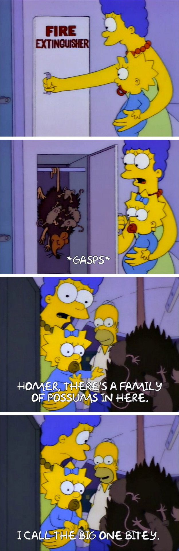 """From """"Marge vs. the Monorail"""": 