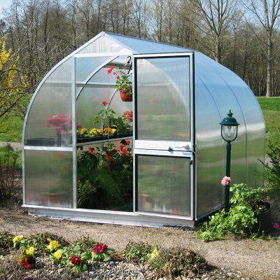 Hoklartherm RIGA IIIS 7.6 x 10.5-Foot Greenhouse