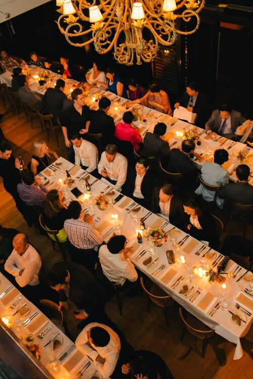 50 Guests, the perfect intimate wedding dinner at Cafe Morso Photo credit #studiosomething