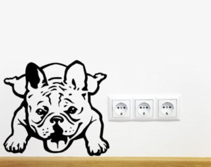 Dog Decal French Bulldog Siesta Vinyl Sticker Decal Good For