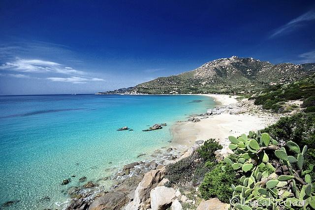 Campus Beach, Villasimius, Sardinia, Italy