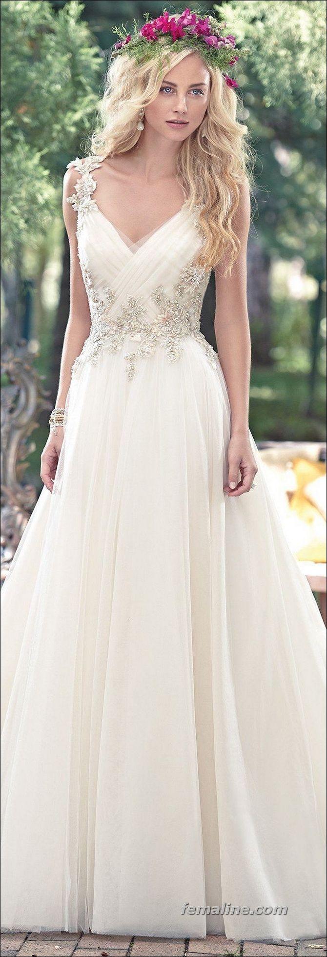 187 Ideas For Spring Wedding Dresses 2017