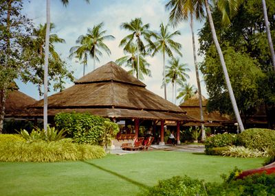 Koh Samui airport - possibly the prettiest airport in the world?
