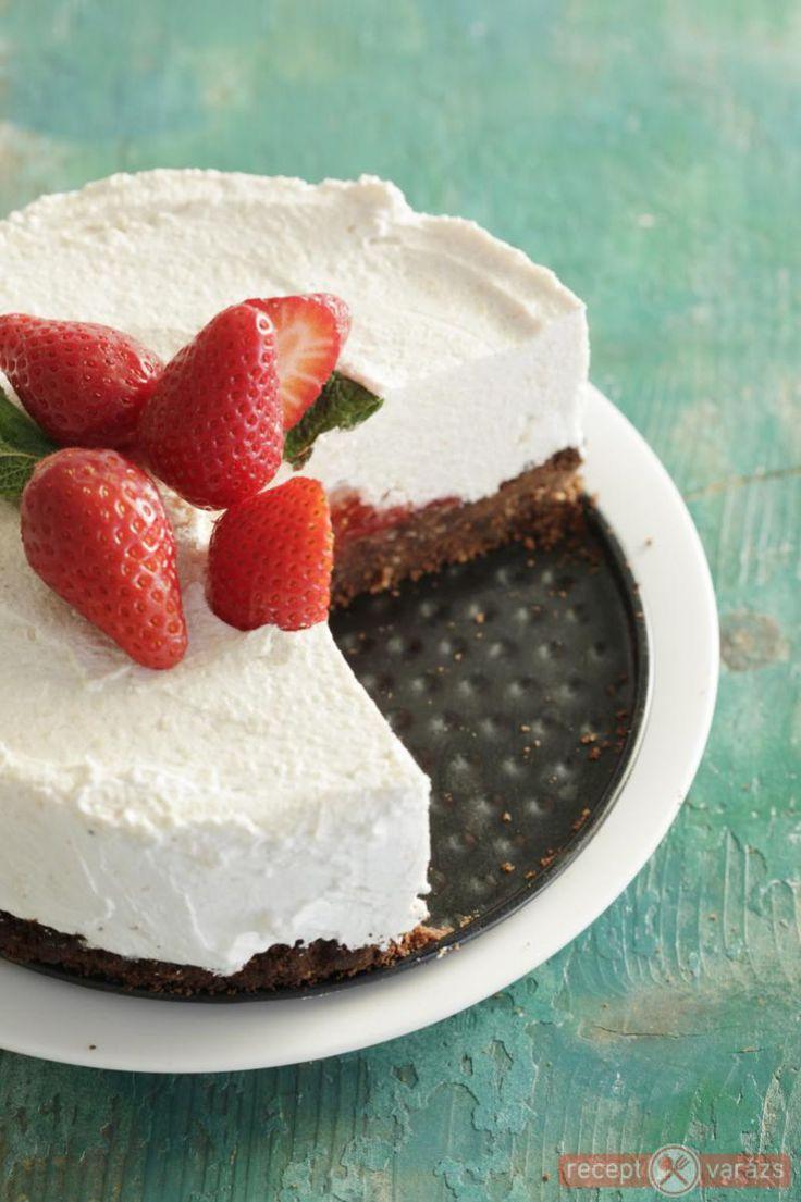 Epres sajttortorta recept Készítsd el akár 2, vagy 12 főre, a Receptvarazs.hu ebben is segít!