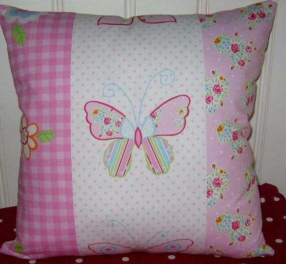 Butterfly pillow ~