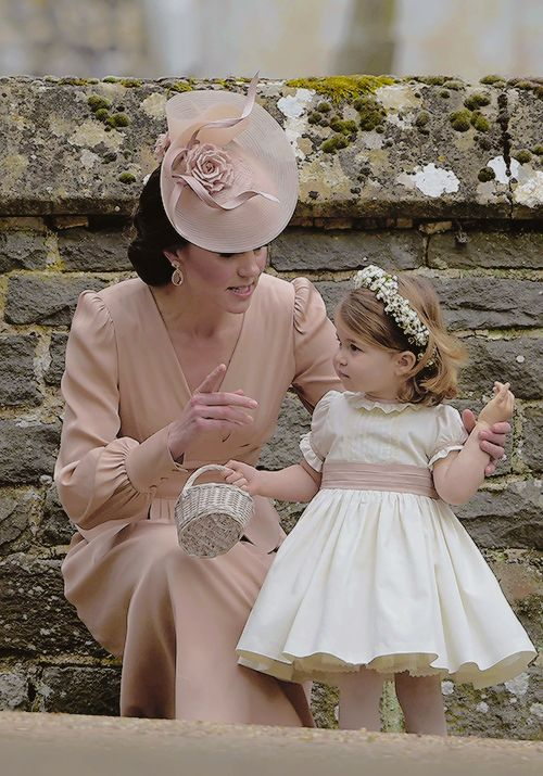 catherinemiddletonmafia:  Catherine and Charlotte, May 20, 2017