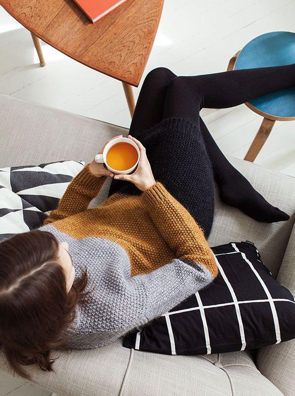 This Marimekko Campaign Captures Lazy Days at Home #print #marketing trendhunter.com