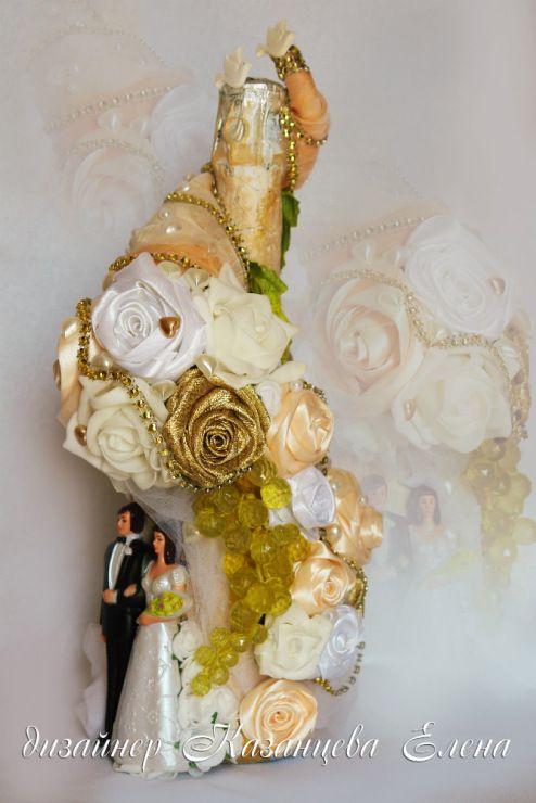 Gallery.ru / Фото #35 - свадебные бутылки - kazantceva