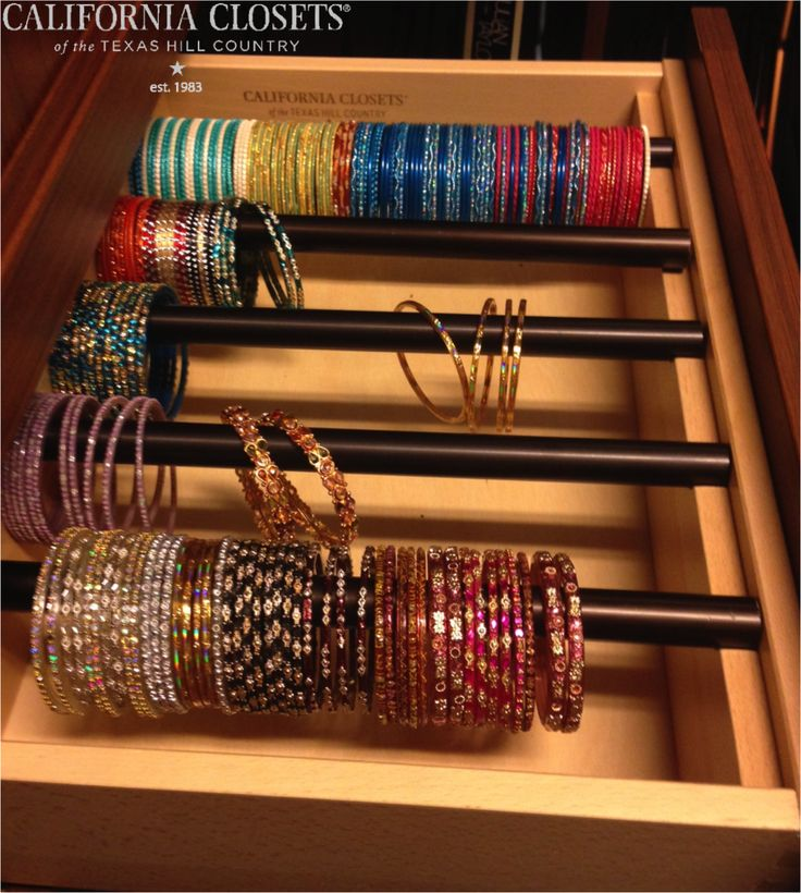 Custom Designed Bangle Storage #Austin #SanAntonio #design