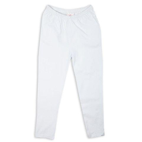 Ladies White Capri Leggings
