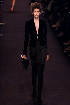 Saint Laurent Fall 2002 Ready to Wear Collection Photos   Vogue