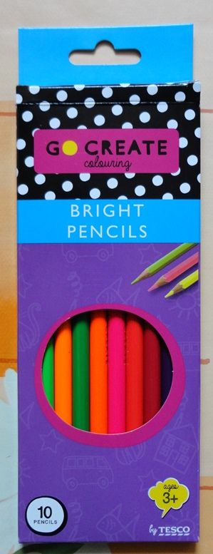 Tesco Go Create Bright Pencils