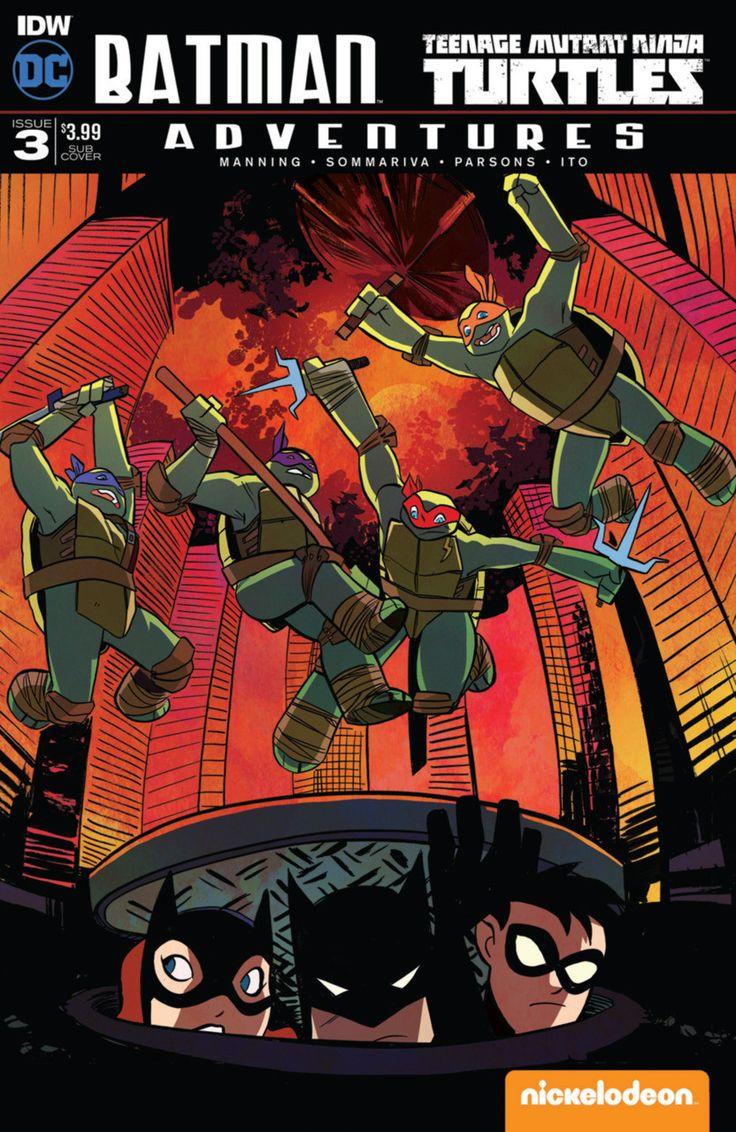 DC Comics/IDW - Batman Teenage Mutant Ninja Turtles Adventures #3 - Subscription Cover