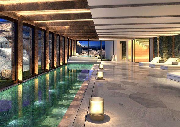 Hba Refurbishes Atlantis By Giardino In Zurich Hotel Management Luxury Swimming Pools Dream Pool Indoor Indoor Pool Design