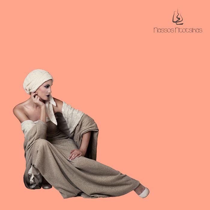 """Fragile"" Nassos Ntotsikas SS2015 ~~ Photo | Fenia Labropoulou ~ Model | Ina Palama ~ Make-Up | Antonis Papastavrou ~ Collage | @Angelina Stroumpouli #NassosNtotsikas #GreekDesigner #SS2015 #FashionDesigner #KnitYourDreams #Campaign #Outfit"