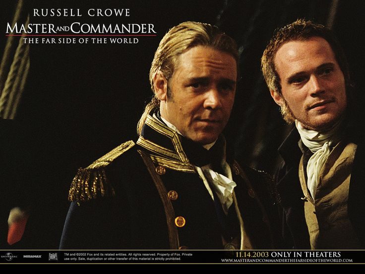 Captain Jack Aubrey and Doctor Stephen - Master and Commander