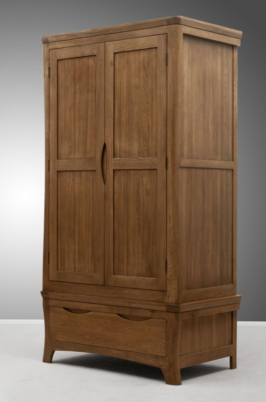 Orrick Solid Oak - Wardrobe   -             Oak Furniture Land   www.oakfurnitureland.co.uk
