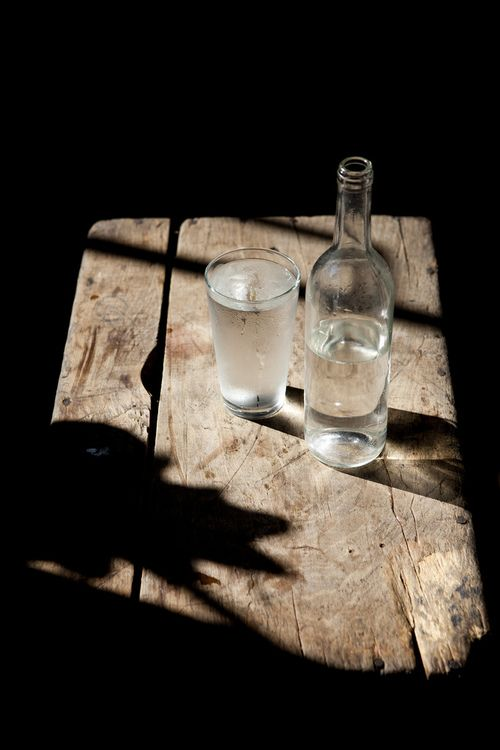 SimpleLights, Nature Wood, Water Bottle, Glasses, Food, Franzen Photography, Nicole Franzen, Drinks, Shadows