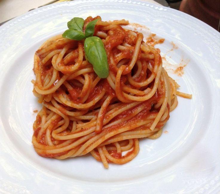 Il Cucchiaio di Giada   Spaghetti al Sugo