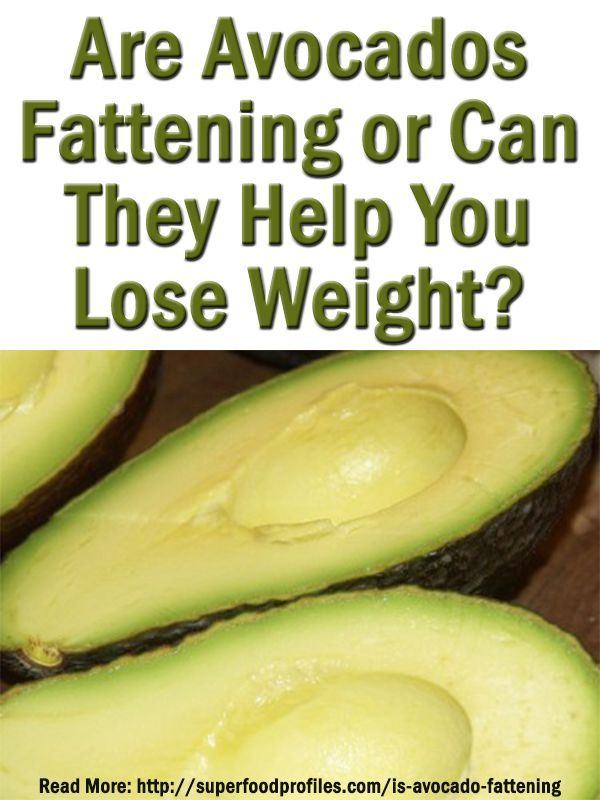Many people still think avocados are fattening. Here's why they're not and why it's worth eating more avocado, especially if you want to lose weight superfoodprofiles...