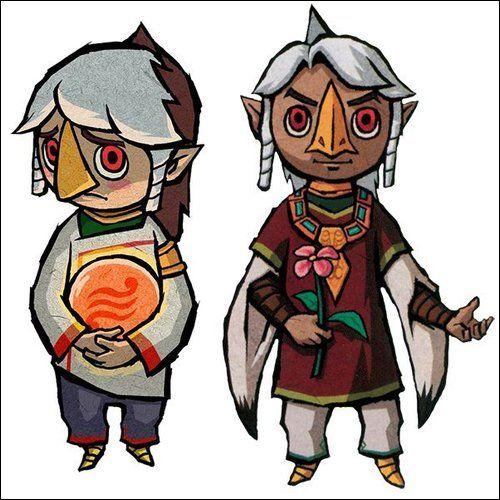 Character Design Challenge Zelda : Best wind waker characters images on pinterest