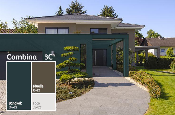 Dale a tu #fachada un look diferente usando más de un color, lograrás una apariencia única. #BienHecho