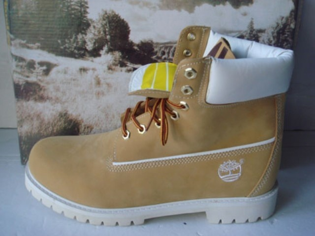 Timberland 6 Inch Boots Mens Yellow/White [Timberland 6 Inch Boots Mens-60]