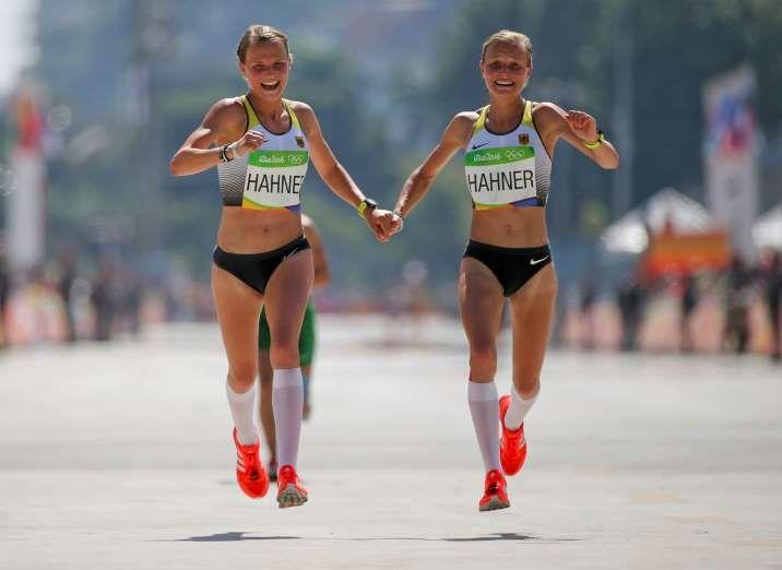 2016 Rio Olympics - Athletics - Final - Women's Marathon - Sambodromo - Rio de…